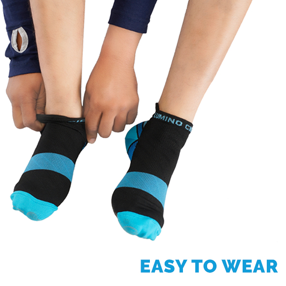 Strong Low Cut Compression Socks for Ankle Pain